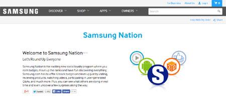 Samsung tạo ra website này với mục đích xây dựng cộng đồng người dùng các sản phẩm