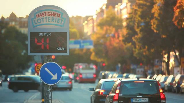 Speed Camera Lottery tại Thụy Điển
