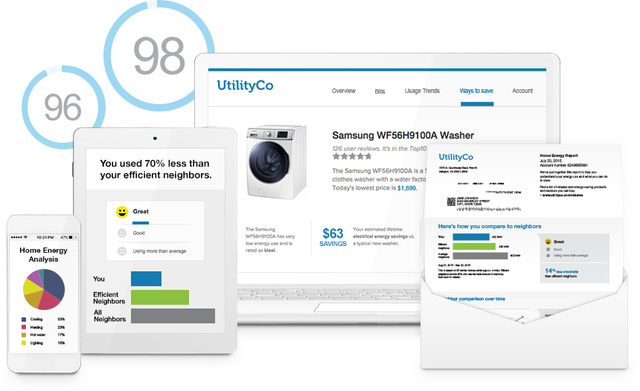 Hệ thống thông báo dữ liệu sử dụng năng lượng có mặt trên mọi kênh và mọi thiết bị của Opower