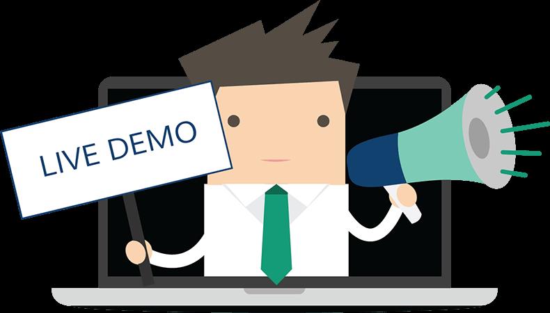 Đừng ngần ngại việc yêu cầu một buổi demo, 1 khoảng thời gian dùng thử hệ thống LMS