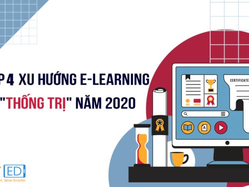 """Top 4 xu hướng E-learning """"thống trị"""" thị trường 2020"""