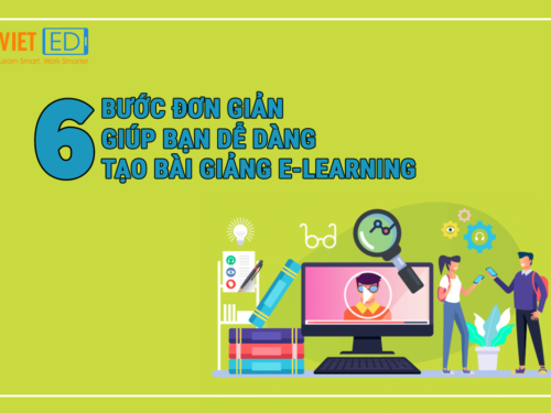 6 bước đơn giản giúp bạn dễ dàng tạo bài giảng E-learning