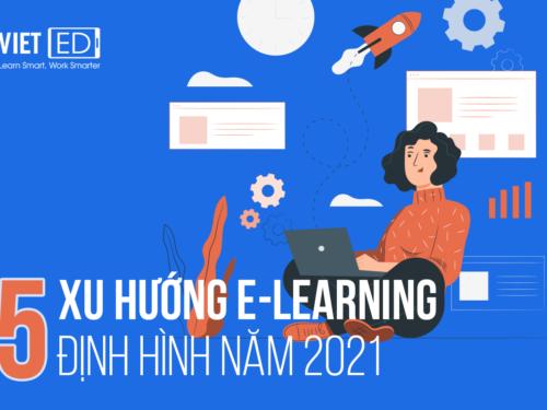 5 xu hướng e-learning định hình năm 2021